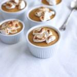 Sweet Potato Custard Pots