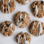 Carrot Cake Whole Wheat Cookie Snacks (dairy free)