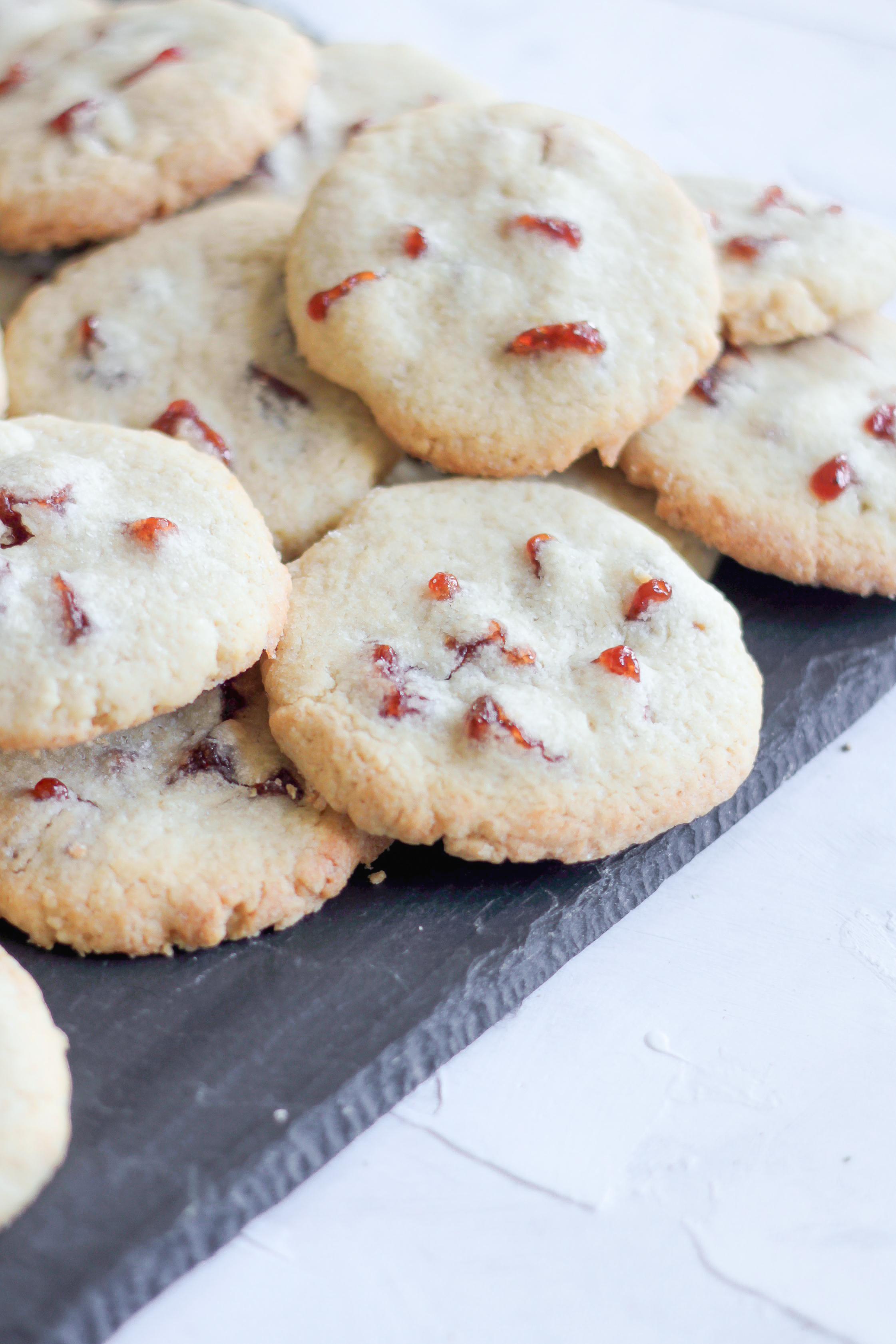 Shortbread Guava Cookies