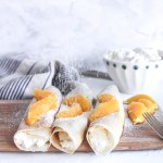 Orange Ricotta Crepes