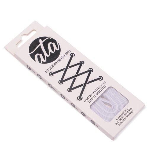 Lacets élastiques Ata® blanc