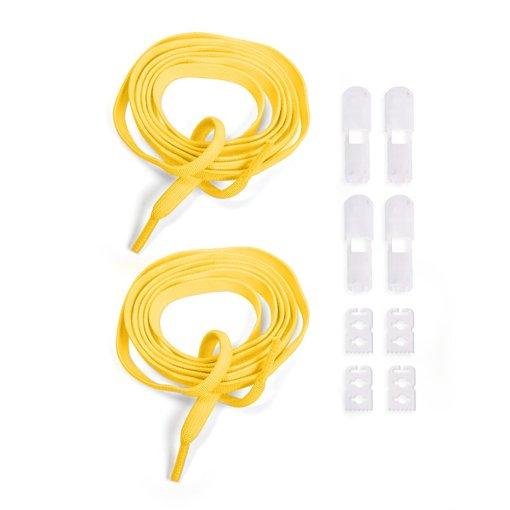 Atacadores elásticos Ata® cor amarelo