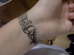 02 Barcelet Wrist Tattoo Ideas