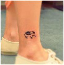 04 Small Elephant Tattoo