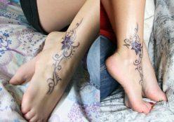 10 Flower-Ankle-Tattoo-Ideas