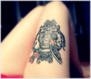 sexy thigh tattoo design for women http://itattoos.club/the-beautiful-tattoo-designs-for-women/sexy-thigh-tattoo-design-for-women/index.htm