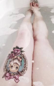 Eevee pokemon tattoo