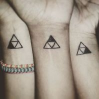 Very creative unity tattoo for sister https://pl.pinterest.com/pin/263319909442456253/