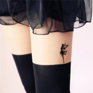 Dancing fairy tattoo http://webdesignclick.com/sexy-leg-tattoo-design-women/