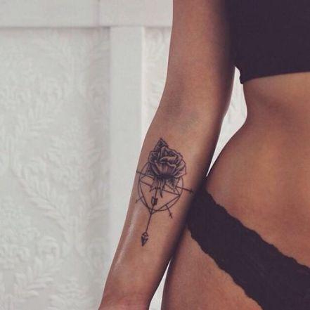 Epic Rose Arm Tattoo