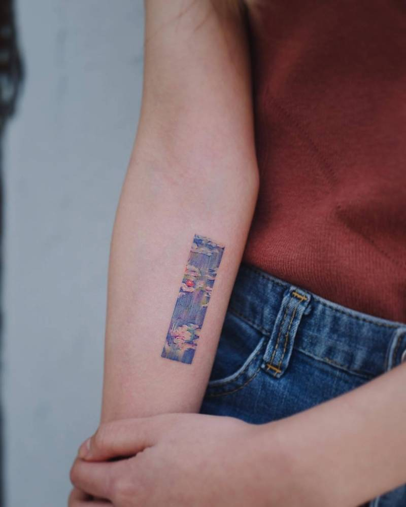 Small tattoo frame from EQ