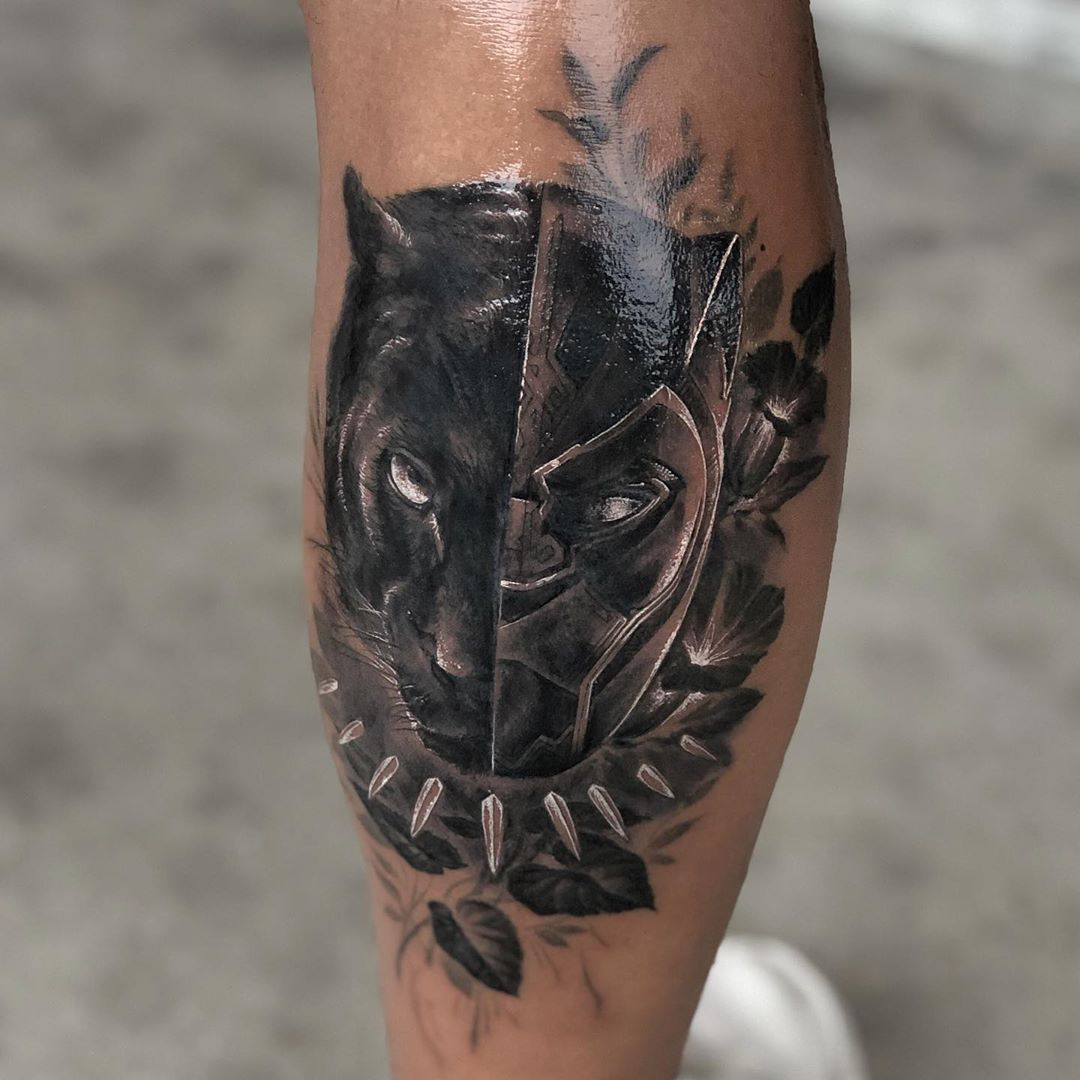The real and perceived Black Panther tattoo