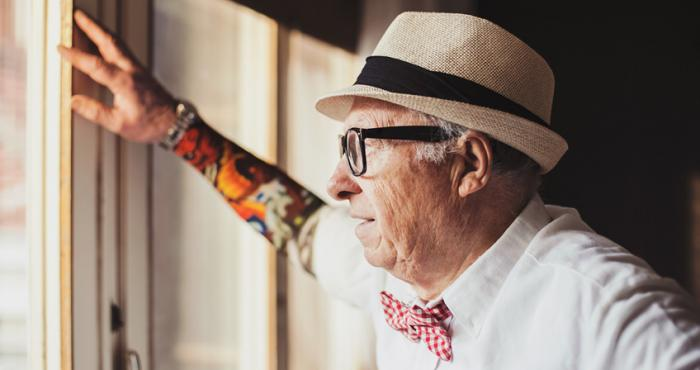 Tattoos for older people