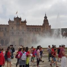 Visita escolar a Sevilla