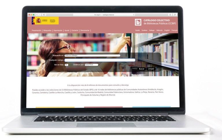 Catálogo colectivo de bibliotecas públicas