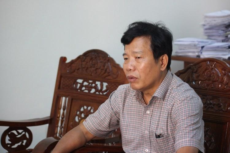 """""""Từ  năm 2009 đến nay, trên địa bàn có hơn 2.000ha rừng tự nhiên bị mất do thủy điện và các công trình, dự án""""-ông Lê Minh Hưng, Phó Giám đốc Sở Nông nghiệp và Phát triển Nông thôn tỉnh Quảng Nam. (Ảnh: Vietnam+)"""