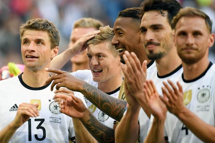 Thomas Müller, Mats Hummels và Jérôme Boateng không còn chung chiến tuyến với  Kroos ở đội tuyển.