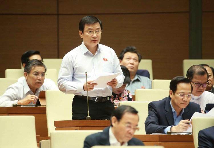 Đại biểu Quốc hội tỉnh Bình Dương Phạm Trọng Nhân. (Nguồn ảnh: TTXVN)