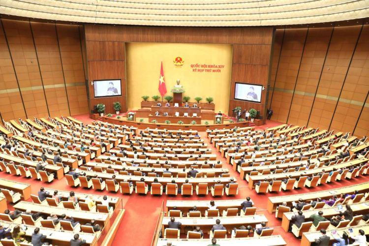 第十五届国会代表和2021-2026年任期各级人民议会代表选举是我国人民行使当家做主权利,选出优秀、德才兼备的代表的良好机会。图自越通社