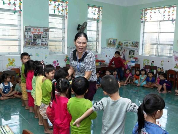Ngành giáo dục đề xuất cho giáo viên mầm non, giáo viên nữ dạy giáo dục thể chất về hưu sớm.