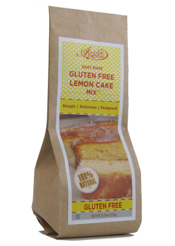 Gluten Free Lemon Cake Mix  At The Table Together