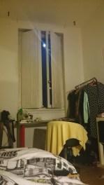 Shiny Shiny moon from my bed