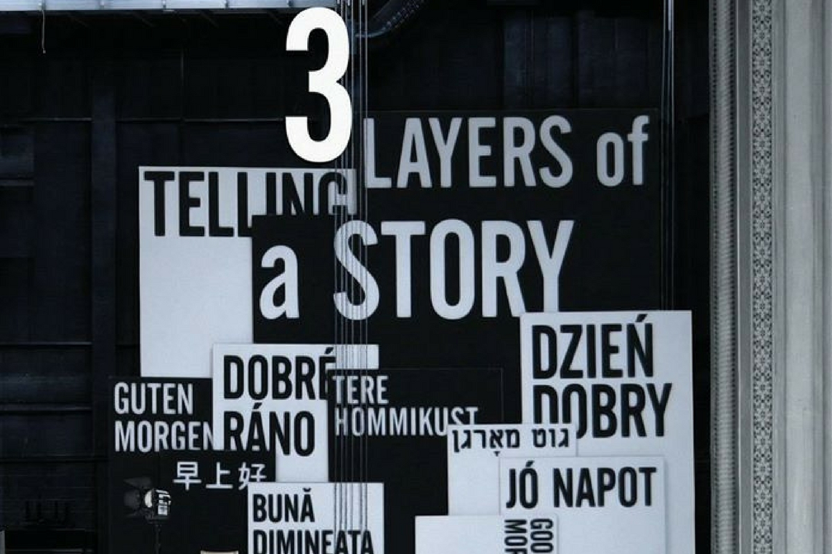 3 LAYERS OF TELLING A STORY