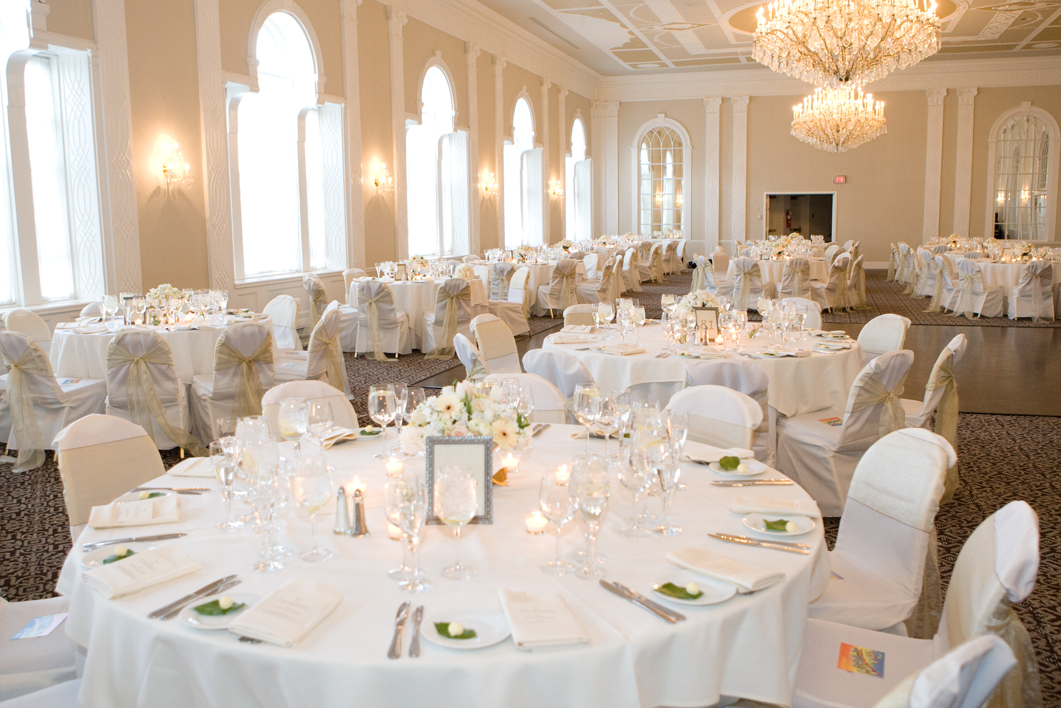 White on White Wedding Decor  All the Best Blog
