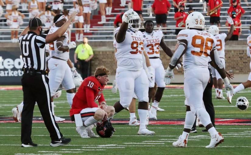 Game 4: Texas Tech (3-0) @ Texas (2-1) Preview