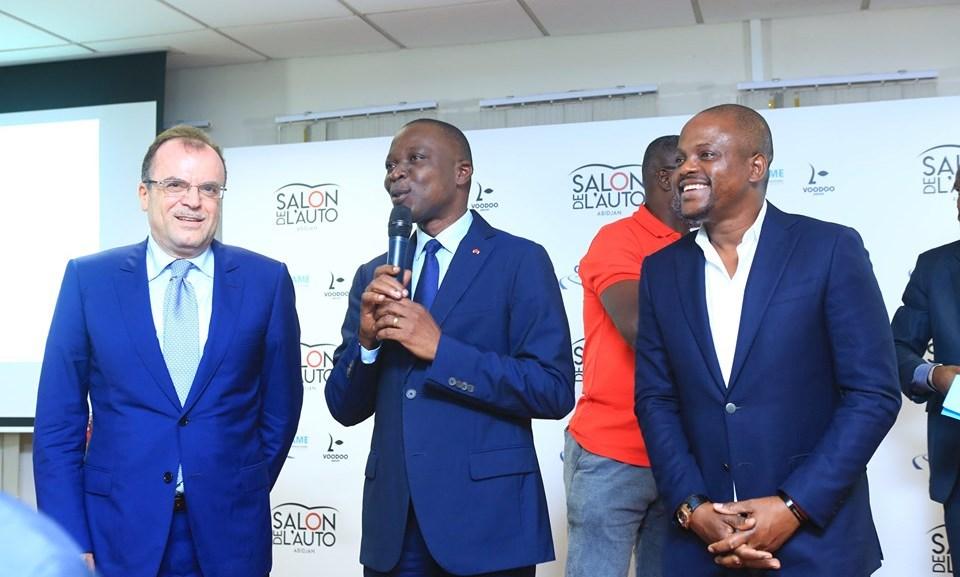 Salon de l'auto à Abidjan