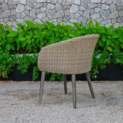 White Resin Wicker Sofa Cushion Covers Replacement Uk Canary Collection - Atc Furniture – Rattan Wicker, Patio ...