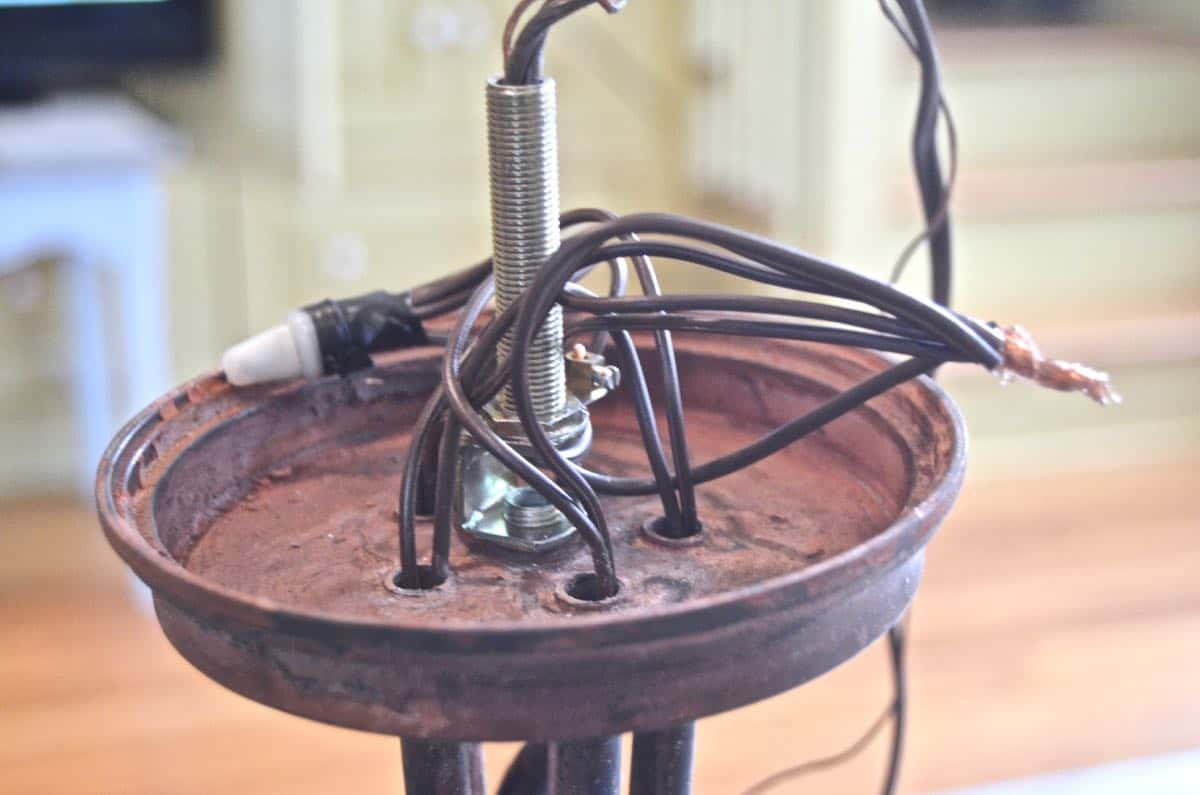 hight resolution of step by step instructions for rewiring a thrifted chandelier