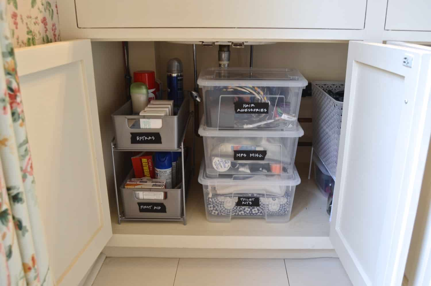 under kitchen sink storage wall pictures for how to organize a bathroom