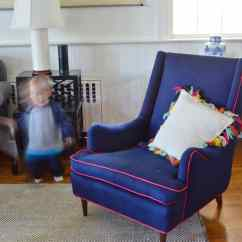 Reupholster Office Chair Back 2 Pc Rocking Cushions How To Upholster A Wingback 21 At Charlotte 39s House