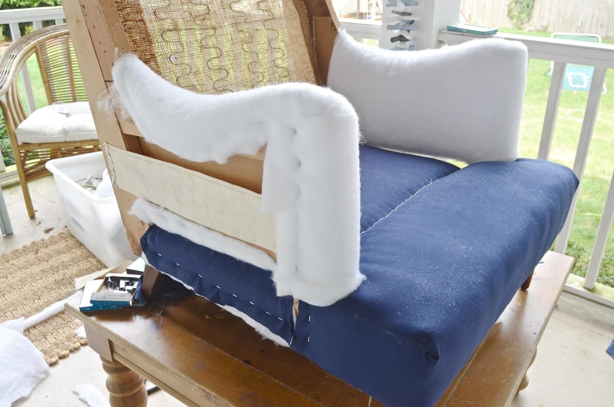 upholstering a chair xl dining room covers my first at charlotte 39s house