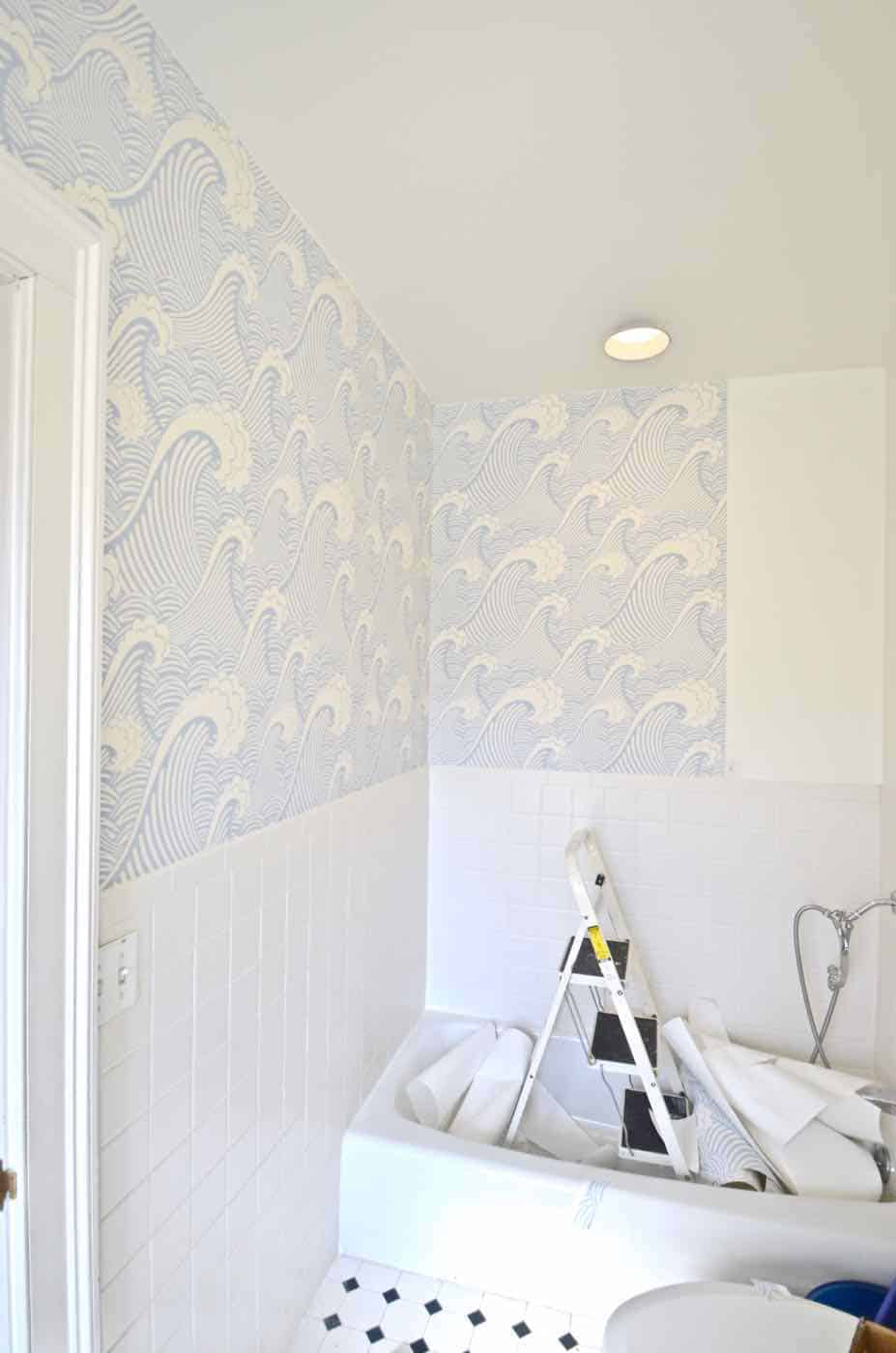 How To Removable Wallpaper  At Charlottes House