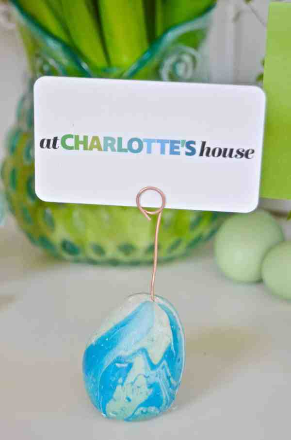 Easter Egg Place Card Holders - At Charlotte's House