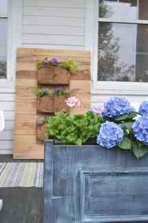 Pallet Wood Wall Planter - Charlotte' House