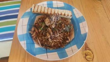Chocolate Binagoongan Pasta
