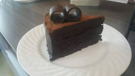 Signature Dark Chocolate Cake
