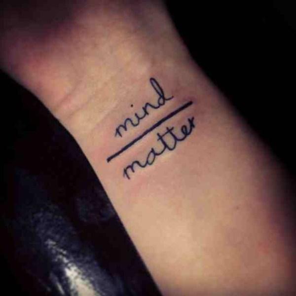 clever tattoo design