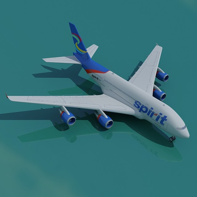 Spirit Airlines A380
