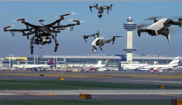 JFK airport drone park