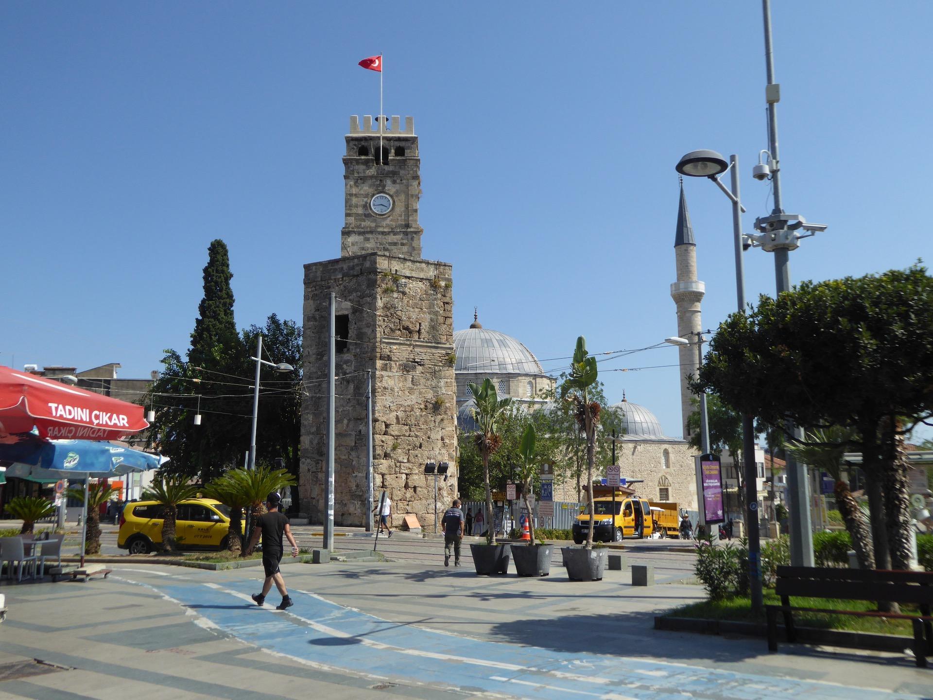 Antalya, Wieża Zegarowa na Kaleici