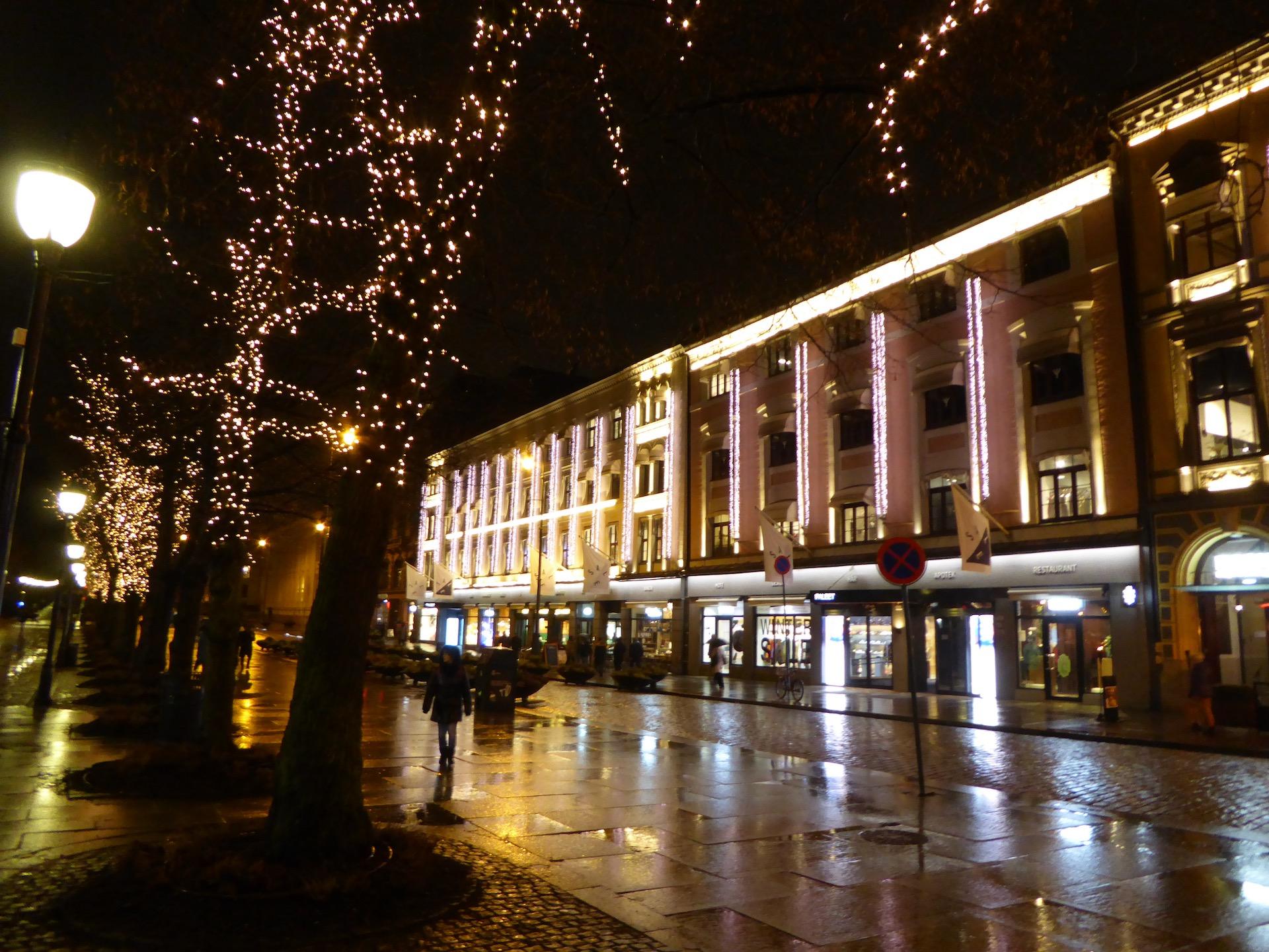 Oslo w dwa dni: Karl Johans gate