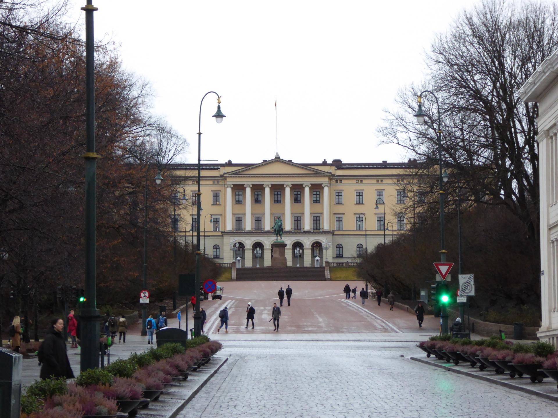 Oslo w dwa dni: Pałac Królewski