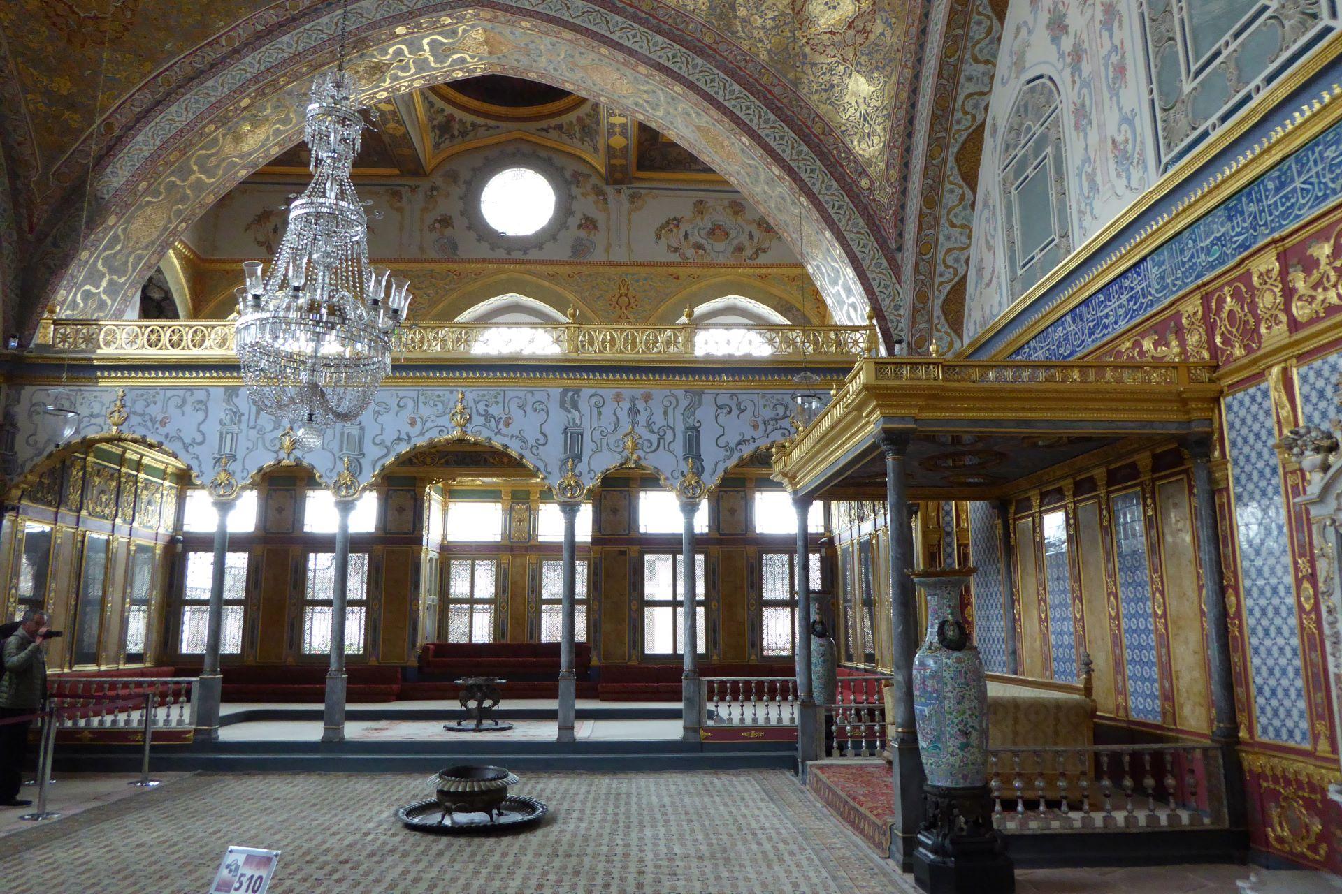 Stambuł Wspaniałe Stulecie: harem w pałacu Topkapi