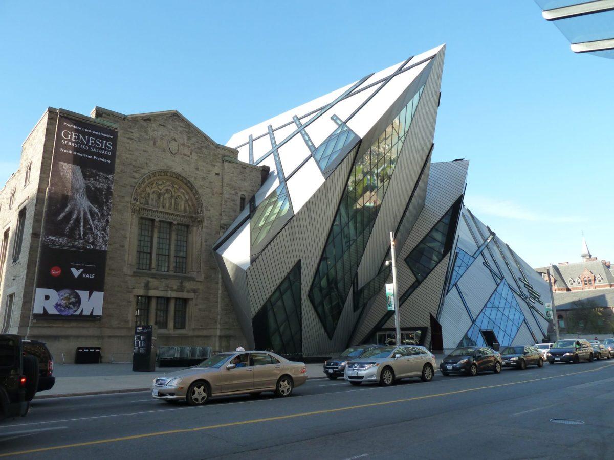 Nowoczesny budynek Royal Ontario Museum Toronto