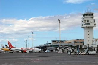 Aeropuerto Tenerife Sur. Fotografía de AENA