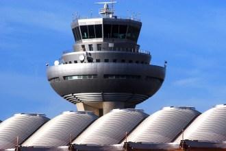 Torre de Control de Madrid-Barajas. Fotografía de Enaire